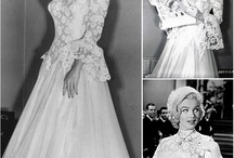 Marilyn Monroe's weddings / Marilyn's wedding dresses (the real ones) and all about them here: http://weheartvintage.co/2015/03/04/marilyn-monroes-wedding-dresses-her-real-ones/