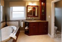 Bathroom Vanities / A dream bathroom should be efficient, functional, and beautiful, no matter what the size.