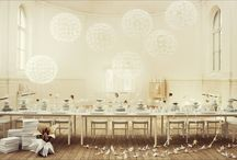 ENTERTAIN - TABLE SETTINGS / by Holly Findlay