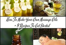 USING NATURAL OILS! / Natural Oils, Essential Oils, using them, blending them ..
