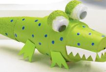 Preschool Alligators and Lizards / by MaryBeth Collins