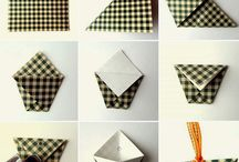 Buste origami