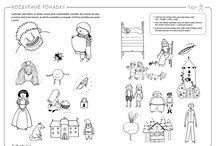 Předškolák - Poznatky a řeč / Rozvoj znalostí, dovedností a komunikačních schopností předškoláků a školáků mladšího školního věku