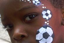 sports facepainting