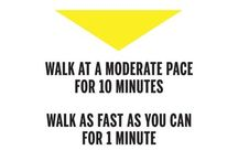 Walking with benefits