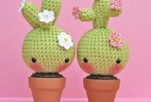 piante amigurumi