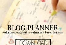 Dicas para bloggers + Blog planner / Dicas de bloggers para bombar o seu blog +divulgação+monetização+organização