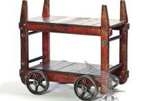 bar cart / The art of the Brooklyn bar cart.