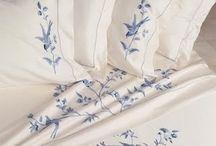 вышивка постельного белья