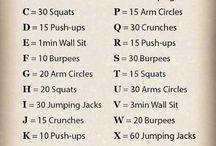 Ah, Workout Schedule