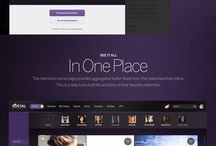 Web Design Inspirations / Great User Interfaces
