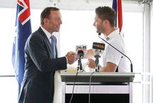 Australian team visits Kirribilli House / The Australian team visits Kirribilli House during the 2013-14 Ashes series.