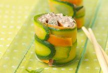 Recettes d'Entrées : Verrines et Amuses Bouches / Ouvrez les appétits avec gourmandise et raffinement.   Découvrez nos recettes d'entrées faciles, rapides et délicieuses pour bien commencer vos repas.  Que les festivités commencent ! Miam !