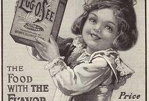 Vintage ads / by Rhetta's books