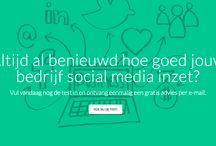 AnalyseSocialMedia.nl / Altijd al benieuwd hoe goed jouw bedrijf social media inzet? Vul vandaag nog de test in en ontvang eenmalig een gratis advies per e-mail.