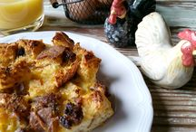 BREAKFAST – BRUNCH / Helpful hints and tips, recipes and ideas for serving breakfast for two or a festive group. Enjoy!