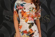Haine trendy - Noua Colectie StarShinerS 21.06.13 / Cauti rochii de vara cu imprimeuri florale sau doar tinute de zi? Toate hainele in tendinte le gasesti aici, fie ca optezi pentru un outfit clasic, elegant, modern sau casual.