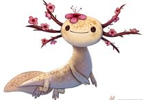Poppy Monsters / fantastical little beasties that my sister Poppy would love