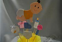Baby Shower / Todo para organizar un Baby Shower. Manualidades, Diy, Aperitivos, Decoración, Recuerdos, Regalos yJuegos