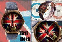 Brit Rock / #BritRock #Rock #Inghilterra  #orologio