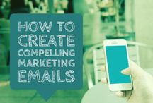 Email Marketing Tips / How to write effective marketing emails, increase email opens and grow your subscribers. Best practices for good email maketing.