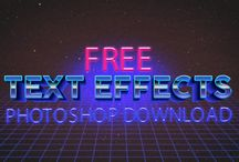 Text Effect / Free Download Photoshop Text Effect & Style