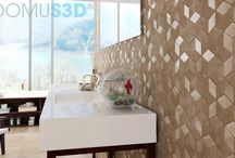 Bathroom / Bathroom images created with DomuS3D, the leading software for interior design using real ceramic tiles, covering materials and sanitary ware coming from the most important Manufacturers in the world
