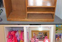 Old furniture repurpose