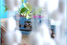 Pokój maluszka - kolorowo / Zapraszamy do świata kolorów, wzorów i dziecięcych marzeń :) Usiądźcie wygodnie, rozgośćcie się i oglądajcie nasze galerie - wszystkie elementy aranżacji znajdziecie na www.home-idea.pl - zapraszamy :)