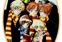 Ouran Highschool Host Clud HARRY POTTER