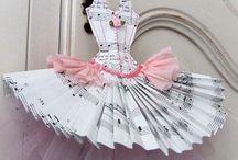 paper dresses.