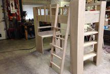 Gemaakte meubels Tom's Steigerhout / Meubels van steigerhout gemaakt door Tom's Steigerhout