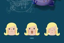Diseño de personajes
