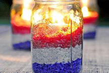 Red, White and Blue Party Ideas / Red, White and Blue Party Ideas, Fourth of July Party Ideas, Memorial Day Ideas, Veterans Day Ideas / by afrugalchick