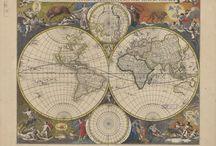 vintage map...design. ..etc