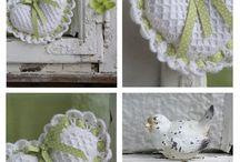 inspirace - pletení, háčkování, šití