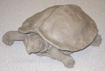 Clay turtles