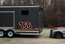 BMW M3 Race Car & Trailer