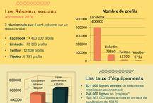 Les Infographies du WebMarketing à La Réunion