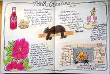 Art Journaling-Travel