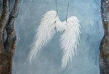 .. angel .. feather .. wing ..