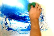 Acryl Painting Technique