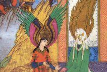 Miniatures persanes - Persian miniature paintings