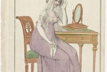 Fashion plates: 1800s / Fashion plates from the first decade of the 19th century.