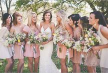 • Wedding Inspiration • / Wedding planning board full of ideas and inspiration.