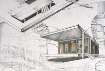 Architectural drawings / by Victoria Nazarova