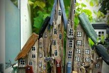 dekoracie z dreva