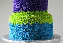 Baking Cake - Piped and Frosted Cakes