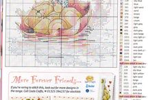 Forever Friends cross stitch