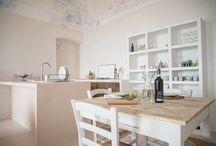 Idee il salone-cucina